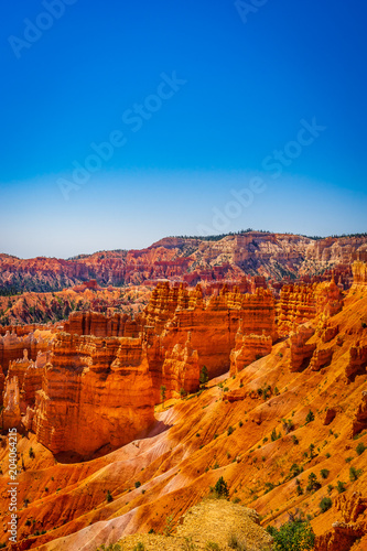 Canvas Print The Bryce Canyon National Park, Utah, United States
