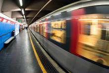 Subway In Milan, Italy
