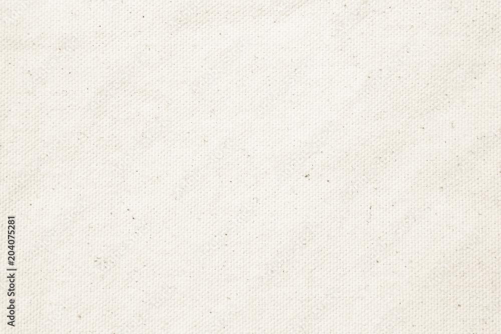 Fototapeta White pastel texture background. Haircloth or blanket wale linen canvas wallpaper.