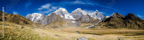 Hiking the alpine route on the Cordillera Huayhuash : remote, wild and awesome Wallpaper Mural
