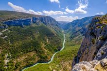 Vue Panoramique Sur Les Gorges...