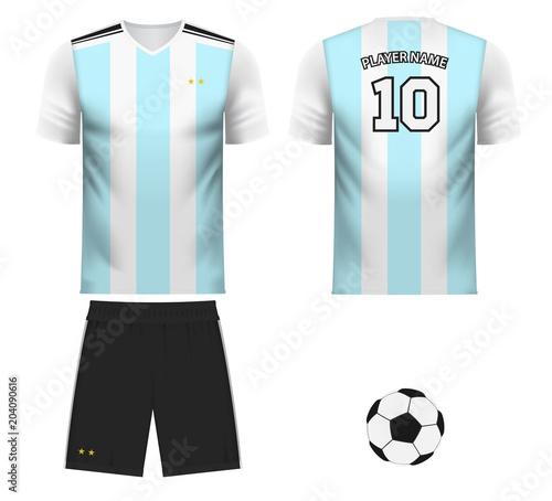 Fotografía Argentina national team jersey fan apparel