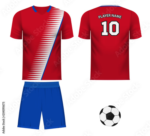 brand new 6165a 956c1 Costa Rica national team jersey fan apparel - Buy this stock ...