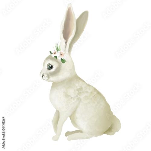 krolik-z-kwiatami-na-glowie-bialy-zajaczek-z-wiankiem