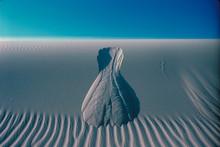 Landslide Abstract, Kelso Dunes, Mojave National Preserve, Mojave Desert, California