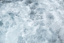 Rough Sea Surface Water, Blue ...