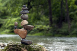 Fototapeta Kamienie - Stacking balance