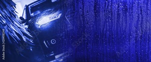 Washing Car Banner Background - 204118244