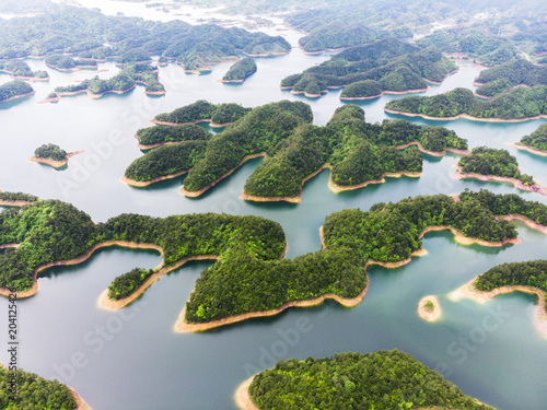 Fotografía  Aerial View of Thousand Island Lake