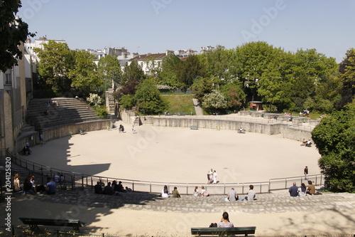 Papiers peints Con. ancienne Paris - Arènes de Lutèce