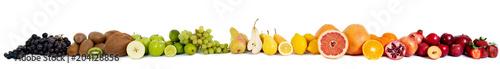 Foto op Aluminium Vruchten Food fruit banner