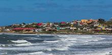 Beach In Punta Del Diablo - Ur...