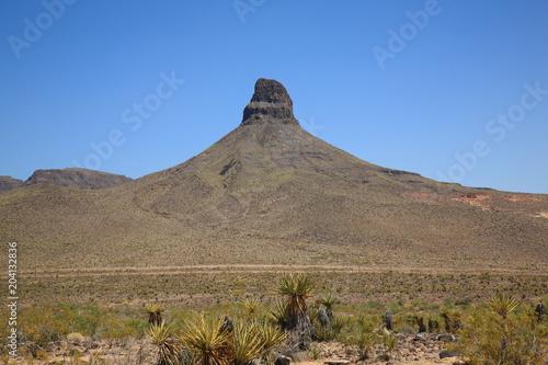 Mountain and Desert Landscape in American Southwest Plakat