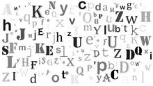 Random Letters English Alphabe...
