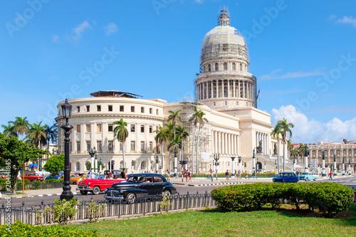 Amérique Centrale The Capitol building in downtown Havana