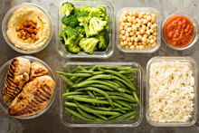 Grilled Chicken Meal Prep With...