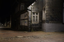 Tiny Street With Old Nordic S...