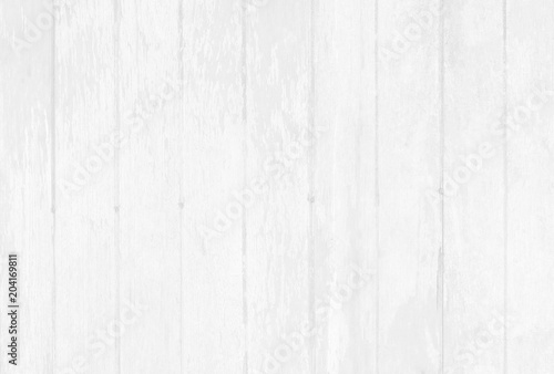 Papiers peints Bois White wooden wall background, texture of bark wood with old natural pattern for design art work.
