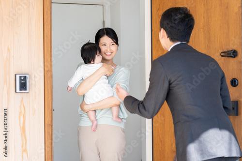 ビジネスマン 訪問