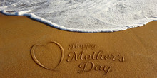 Mother's Day Heart Sign In San...