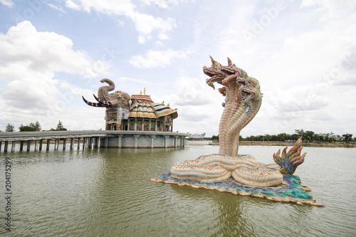 Staande foto Kiev Wat Ban Rai, Dan Khun Thot, Korat, Thailand