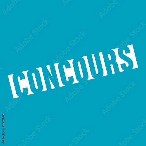 Leinwand Poster concours