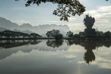 Kyauk Ka Lat Pagoda, Hpa-an, M...