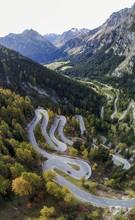 Serpentines At The Maloja Pass...