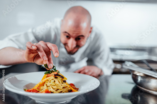 Fotografie, Tablou Nothing goes to the table before it's perfect