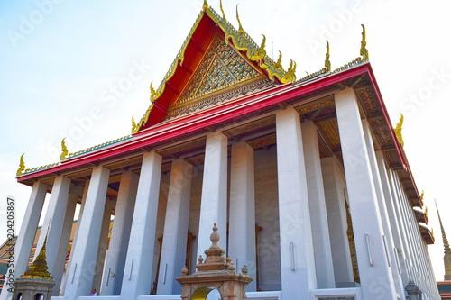Deurstickers Bedehuis Wat Pho ワット・ポー