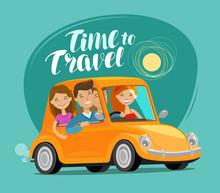 Travel Concept. Happy Friends ...