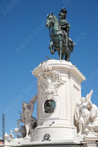 Foto op Canvas Historisch mon. King Joseph statue