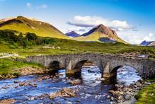 Bridge In Scottish Highland