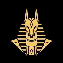 Anubis Logo Vector Illustration