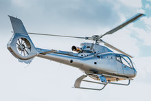 Eurocopter On Takeoff
