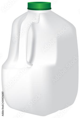 Fotografie, Obraz Gallon jug of milk