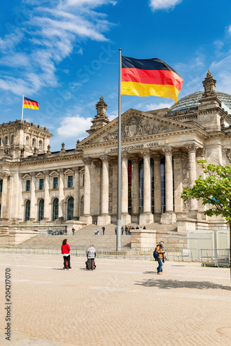 Reichstagsgebäude, Berlin  -  8117 Poster