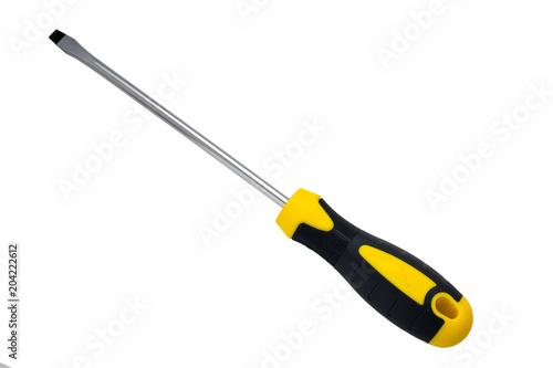 Fotografia, Obraz Slotted screwdriver isolate