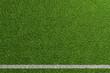 Leinwandbild Motiv Fußball Rasen Spielfeld Hintergrund