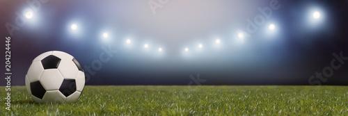 Fussball Stadion Mit Licht Bei Nacht Kaufen Sie Diese