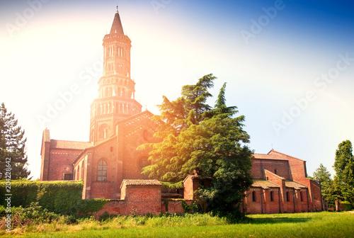 Photo vista dell'abbazia di Chiaravalle