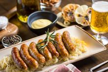 Homemade Pork Sausages With Ca...