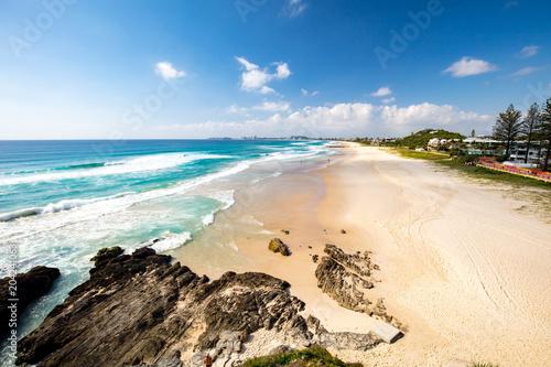 Fotobehang Oceanië Currumbin Beach Gold Coast