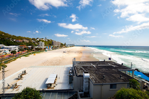 Poster Oceanië Currumbin Beach Gold Coast
