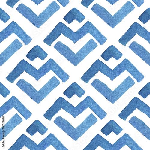 zimowy-wzor-geometryczny-akwarela