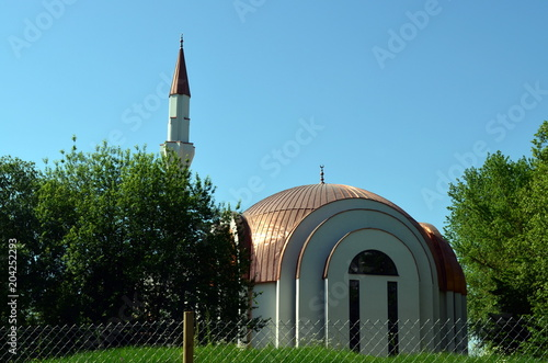 Ulu Moschee in Lahr im Schwarzwald Fototapeta