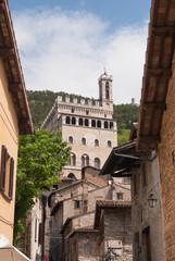 Fototapeta na wymiar Ducal palace seen from below