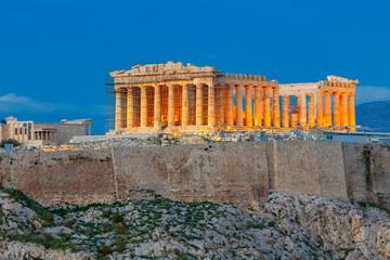 Ateny. Partenon na Akropolu.