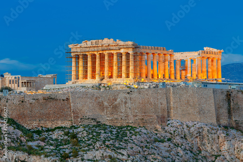 Foto op Aluminium Athene Athens. The Parthenon on the Acropolis.