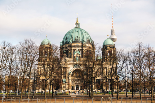 The Berlin Cathedral is called Berliner Dom Poster